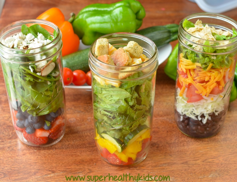 10 Mason Jar Lunches to Have on Hand. We LOVE mason jars - especially ...
