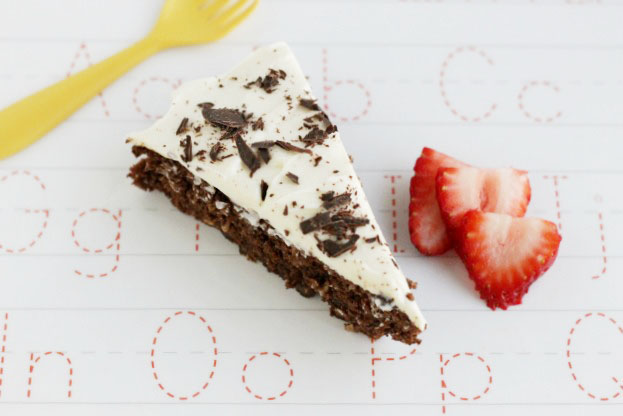 Real, whole food ingredients in the amazing chocolate coconut cake! www.superhealthykids.com