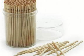 Norpro 360-Pack Ornate Wood Toothpicks