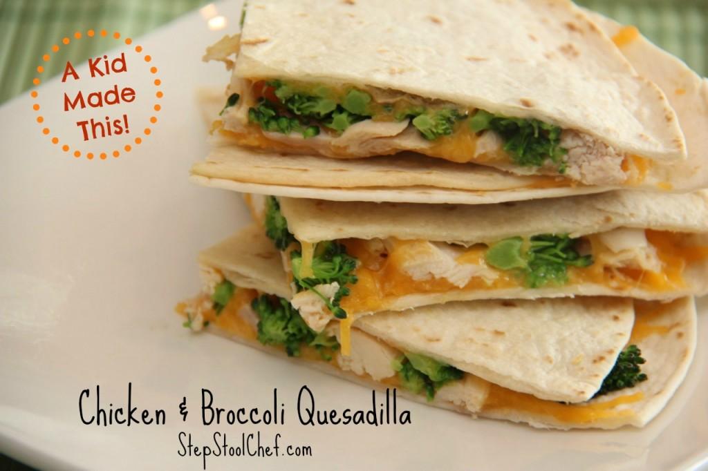 Chicken Broccoli Quesadilla_SSC