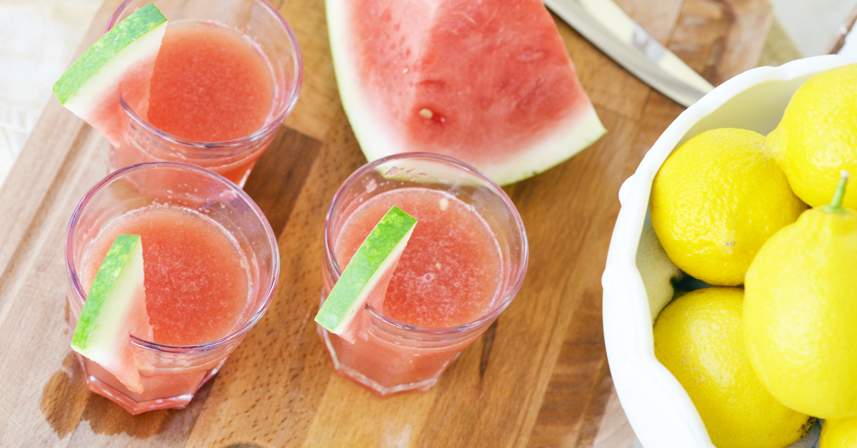 Watermelon Mint Lemonade | Healthy Ideas for Kids