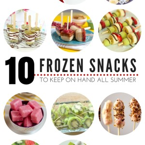 10 Frozen Snacks to Keep On Hand All Summer