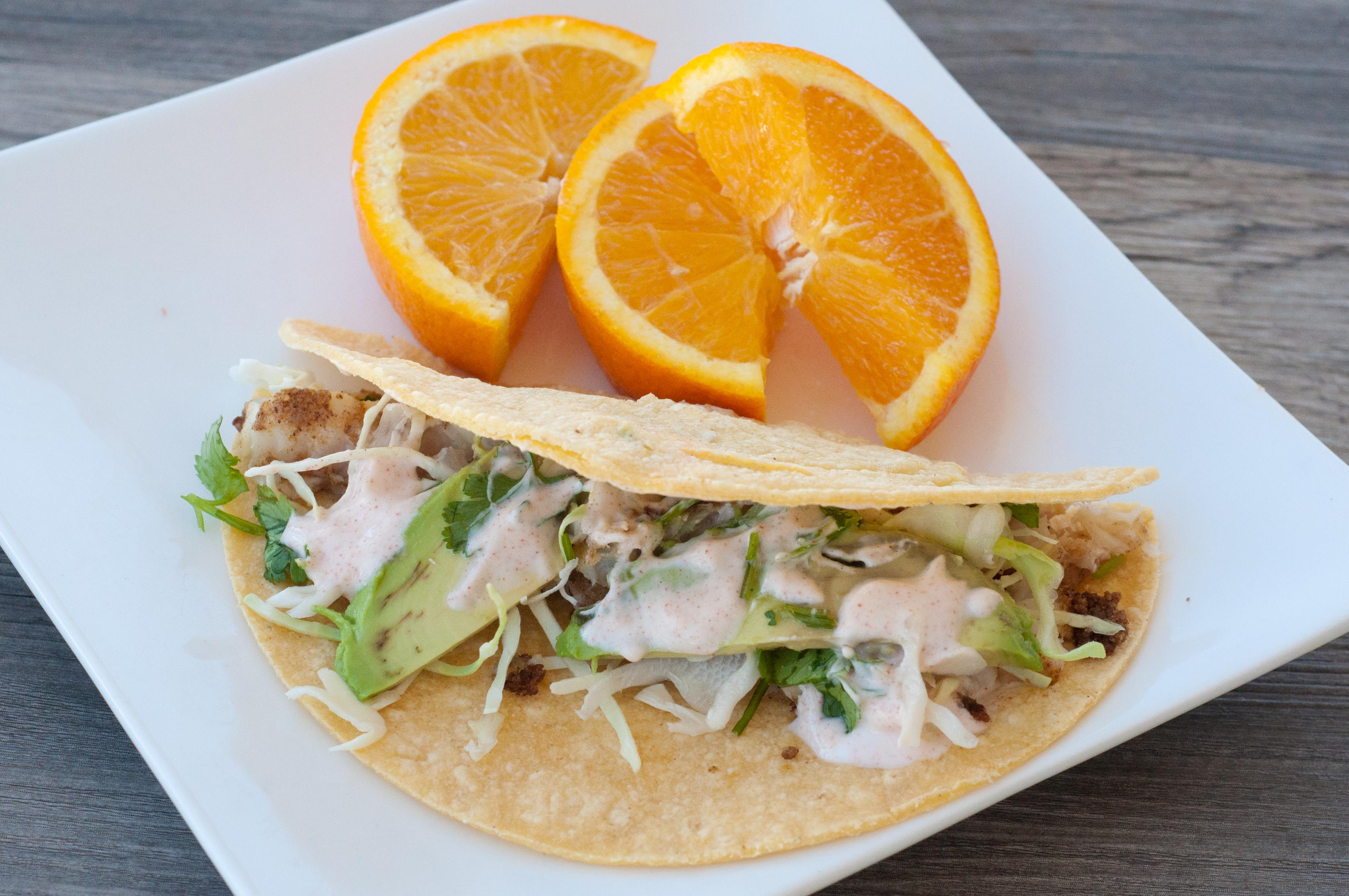 Grilled Fish Tacos with Avocado | Super Healthy Kids