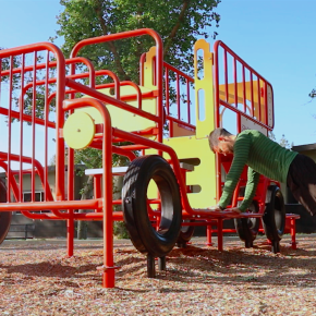 Playground Strength Workout for Kids