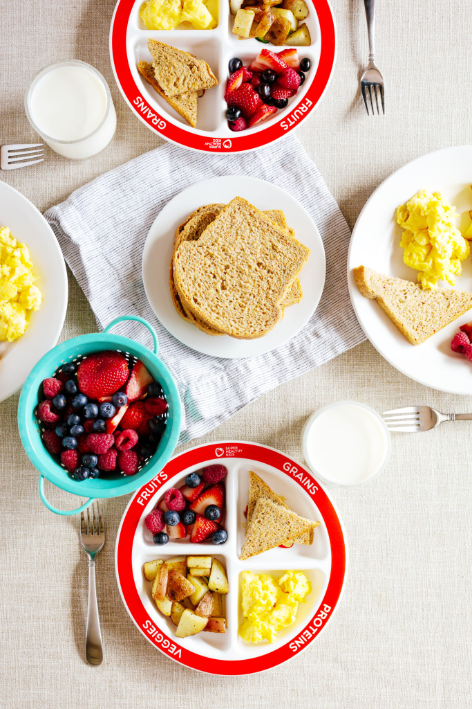 Healthy Balanced Breakfast with MyPlate | Healthy Ideas for Kids