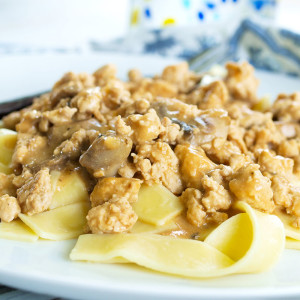 Healthy Turkey Stroganoff Recipe