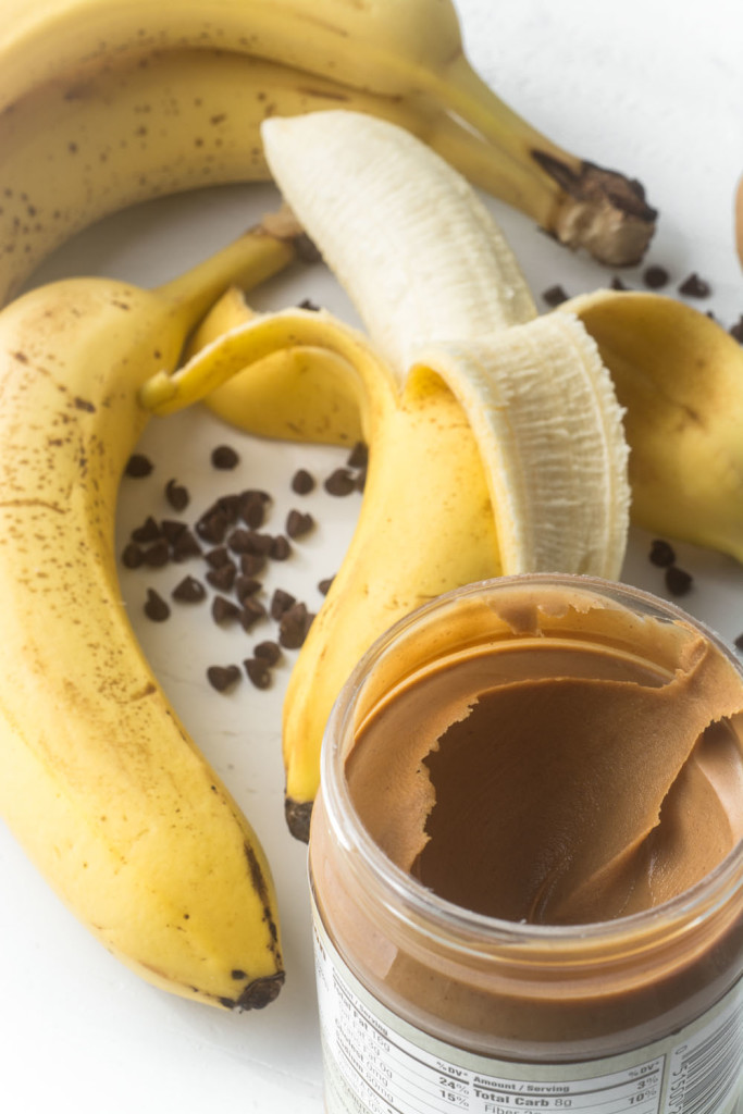 Image result for banana with peanut butter