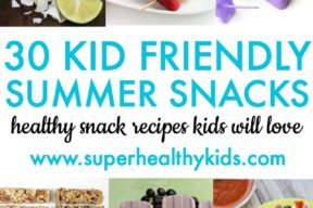 30 Kid Friendly Summer Snacks