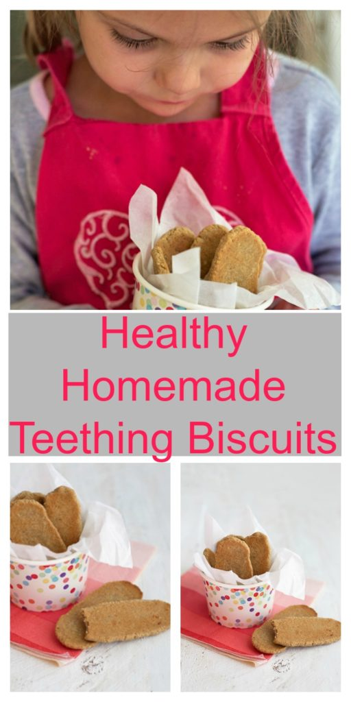 Healthy Homemade Teething Biscuits