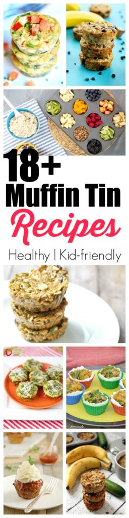 FOOD - 18+ Healthy and delicious recipes you can make in a muffin tin! There are so many healthy and delicious recipes you can make in a muffin tin besides muffins. Check out 18 recipes both sweet and savory to make! http://www.superhealthykids.com/18-healthy-and-delicious-recipes-you-can-make-in-a-muffin-tin/