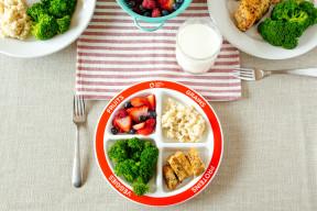 MyPlate DIvided Kids Plate Dinner