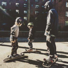 Skateboardlesson