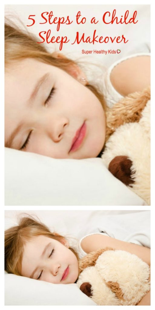 5 Steps to a Child Sleep Makeover