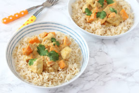 Mild Chicken & Sweet Potato Curry for Kids