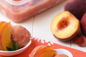 Homemade-Peach-Sorbet