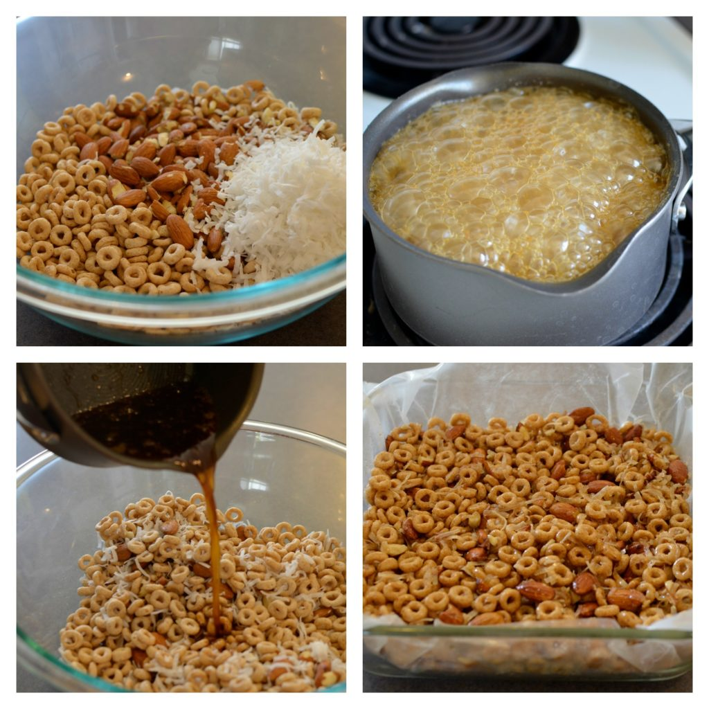 steps for making cereal bars