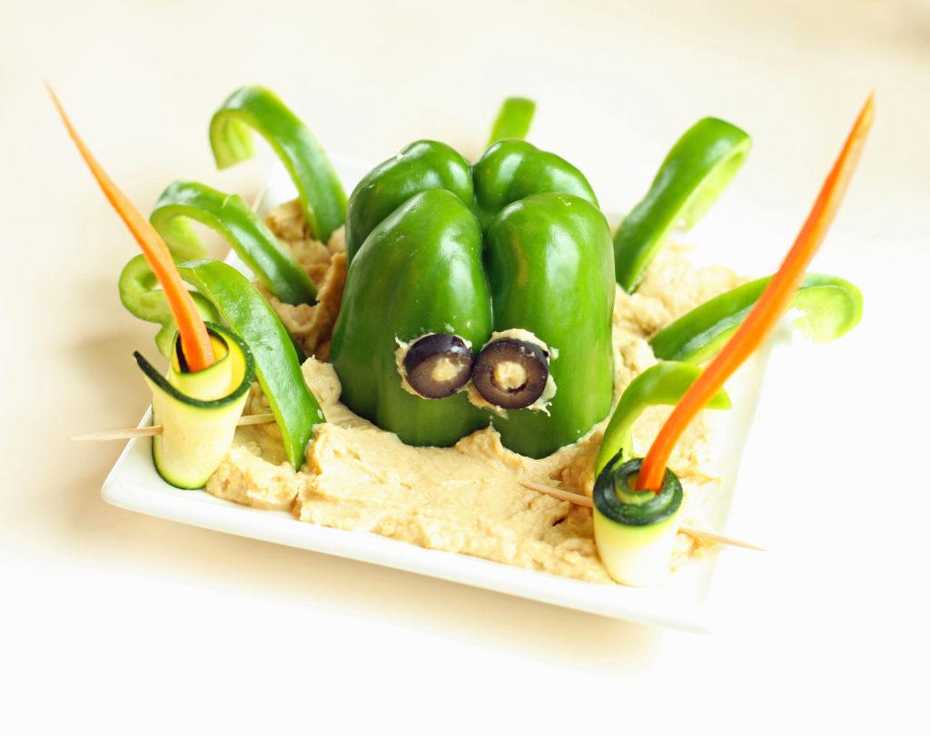 Bell Pepper Octopus