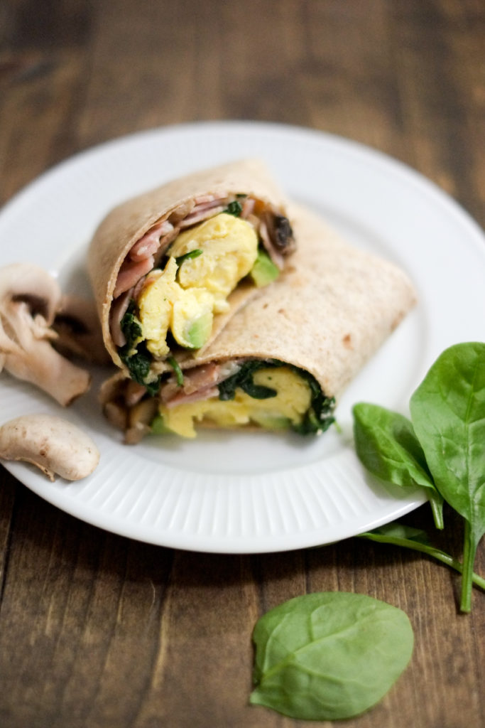 School Morning Breakfast Burrito Recipe