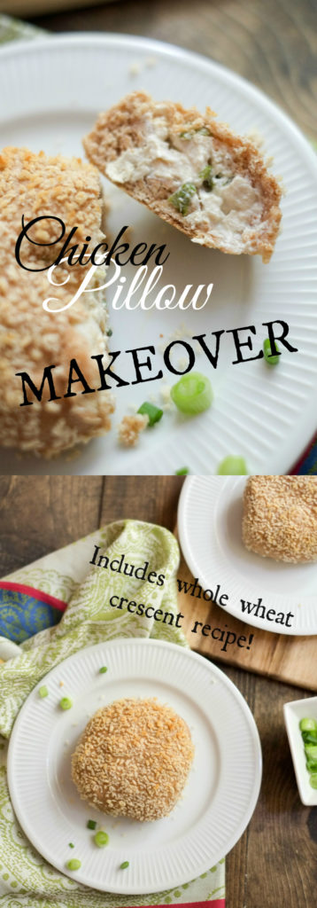 FOOD - Chicken Pillow Makeover - Brilliant on-the-go dinner. http://www.superhealthykids.com/chicken-pillow-makeover-recipe/