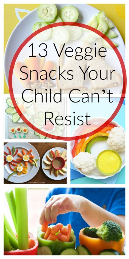 13 Veggie Snacks Your Child Can't Resist