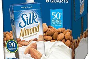 Silk Pure Almond Vanilla, 32-Ounce