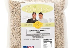 Raw Sunflower Seed Kernels by Gerbs - 4 LBS - Top 11 Food Allergen Free & NON GMO - Vegan & Kosher - Seed Country of Origin USA - Premium Grade Shelled Sunflower