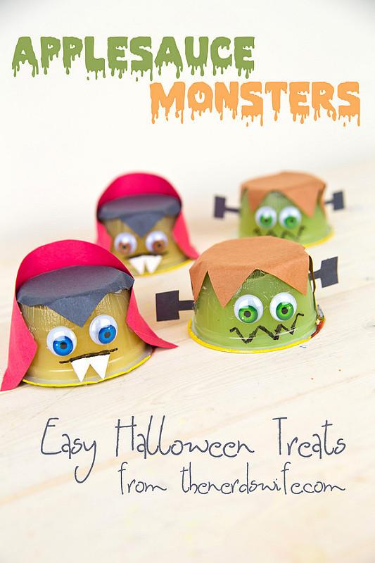 Applesauce monsters