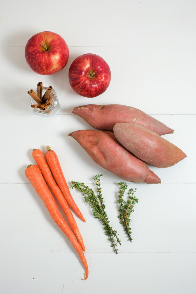 Sweet Potato Baby Food 3 Ways