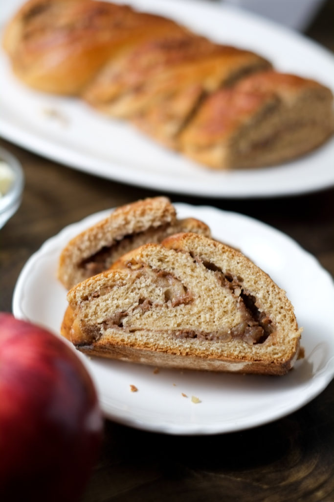 "Spiced Apple Twist Bread. This beautiful spiced apple bread is a great ""twist"" on cinnamon raisin bread. And it tastes just as good as it looks!"