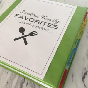 Six Ways to Organize Your Recipes
