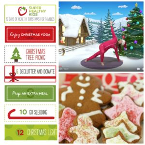 12 Days of Healthy Christmas Activities for Families