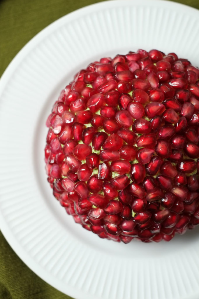Pomegranate and Nut Cheese Ball | Holiday | Super Healthy Kids | Food and Drink