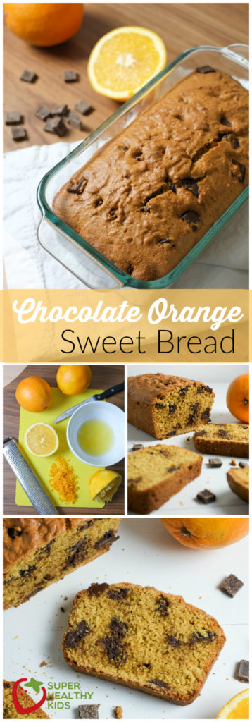 FOOD - Chocolate Orange Bread Recipe | Sweet Bread | Super Healthy Kids | Food and Drink http://www.superhealthykids.com/chocolate-orange-bread-recipe/
