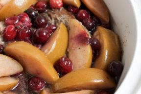 Slow Cooker Cran-Apple Pork Roast | Super Healthy Kids | Food and Drink