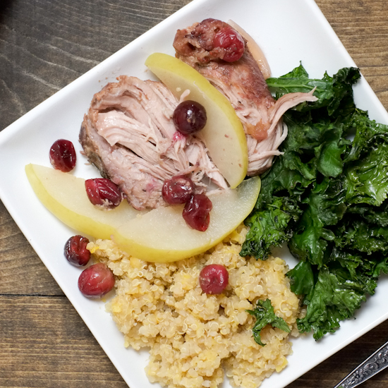 Slow Cooker Cran-Apple Pork Roast | Super Healthy Kids | Food and Drink