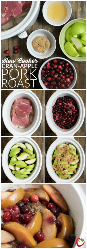 Slow Cooker Cran-Apple Pork Roast | Super Healthy Kids | Food and Drink http://www.superhealthykids.com/slow-cooker-cran-apple-pork-roast-recipe/