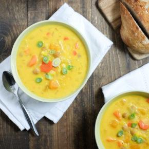 Winter Squash Corn Chowder   Super Healthy Kids   Food & Drink