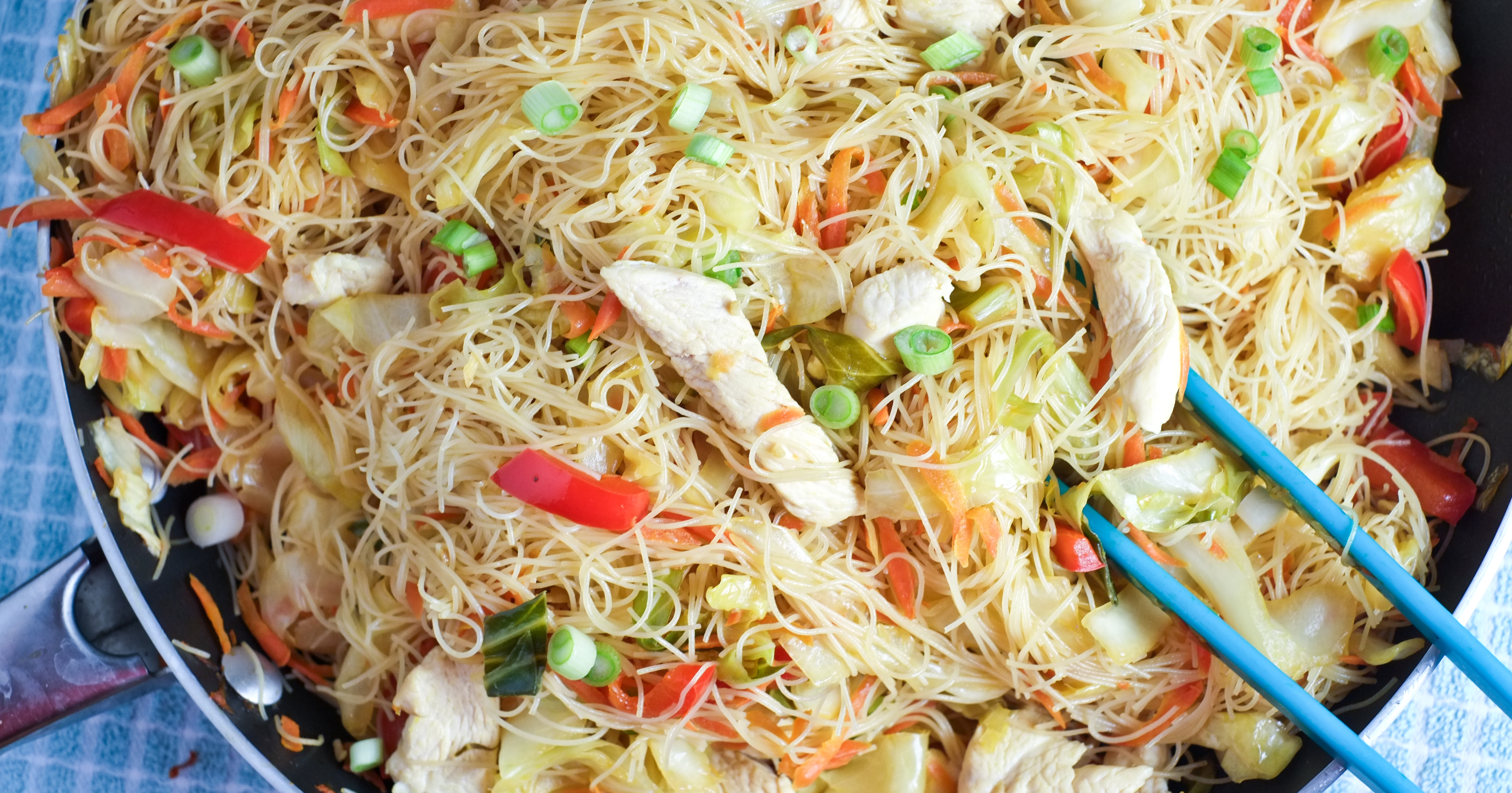 Easy Pancit Noodles And Veggies Healthy Ideas For Kids