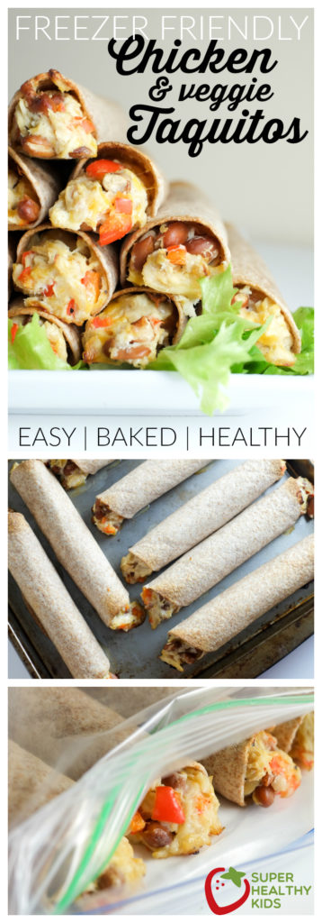 FOOD - Homemade Freezer Friendly Taquitos | Super Healthy Kids | Food and Drink http://www.superhealthykids.com/homemade-freezer-friendly-taquitos/