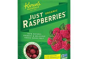 Karen's Naturals Just Tomatoes, Organic Just Raspberries 1.5 Ounce Pouch