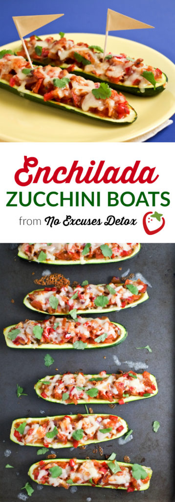 Enchilada-Stuffed Zucchini Boats   Vegetarian Dinner   Super Healthy Kids   Food and Drink
