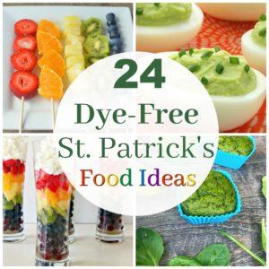 24 Dye-Free Ideas for Fun St. Patrick's Day Food