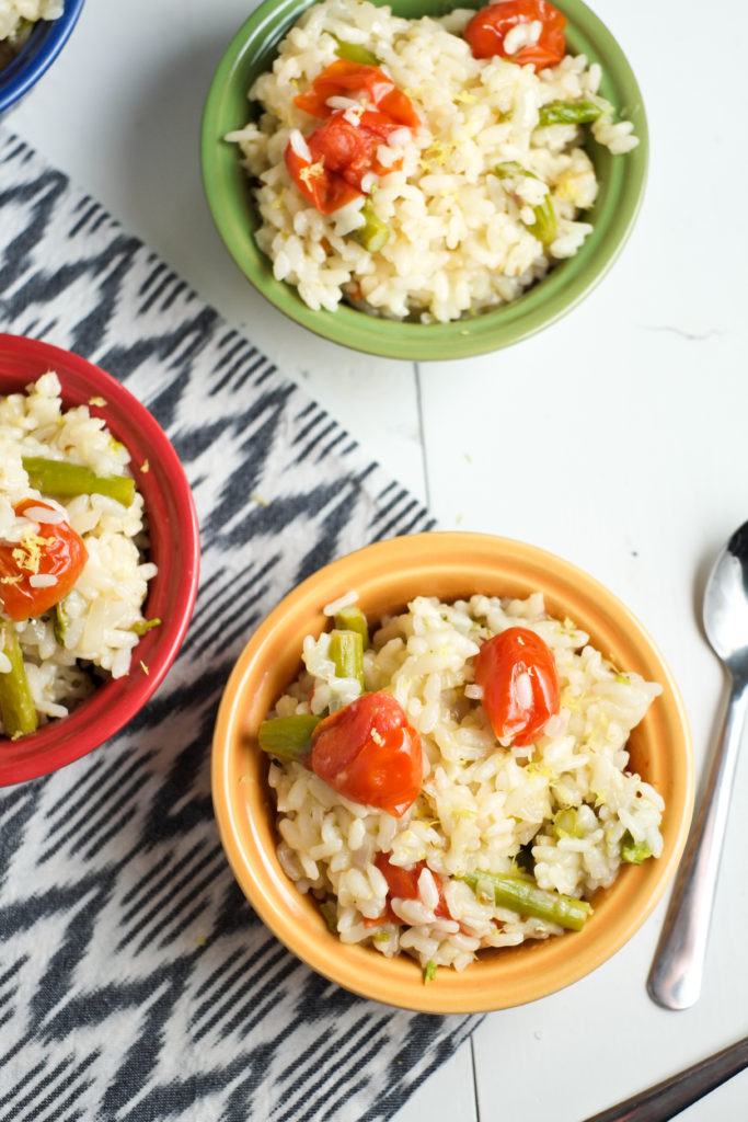 Cheesy Instant Pot Risotto with Spring Veggies | Super Healthy Kids | Food and Drink