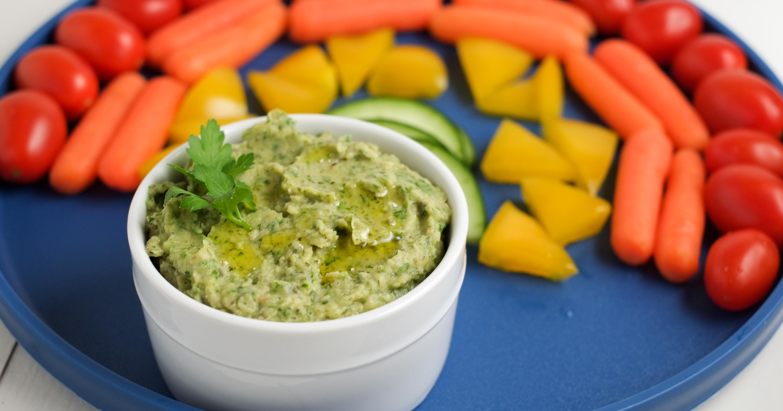 green hummus recipe  healthy ideas for kids