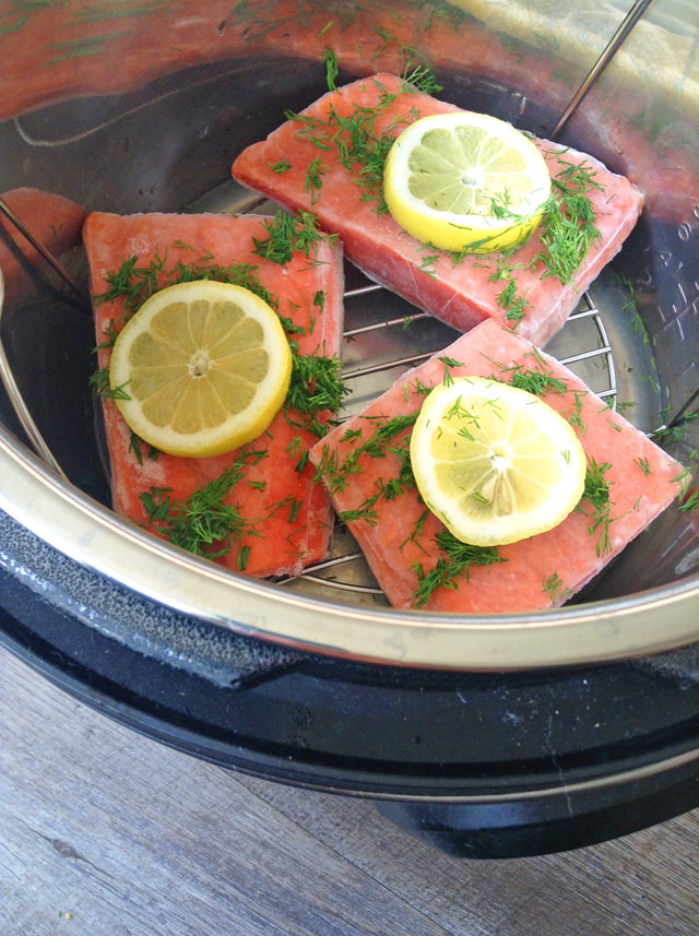 10 minute instant pot salmon from frozen healthy for Instant pot fish
