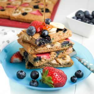 Fruit & Veggie Sheet Pan Pancakes Recipe