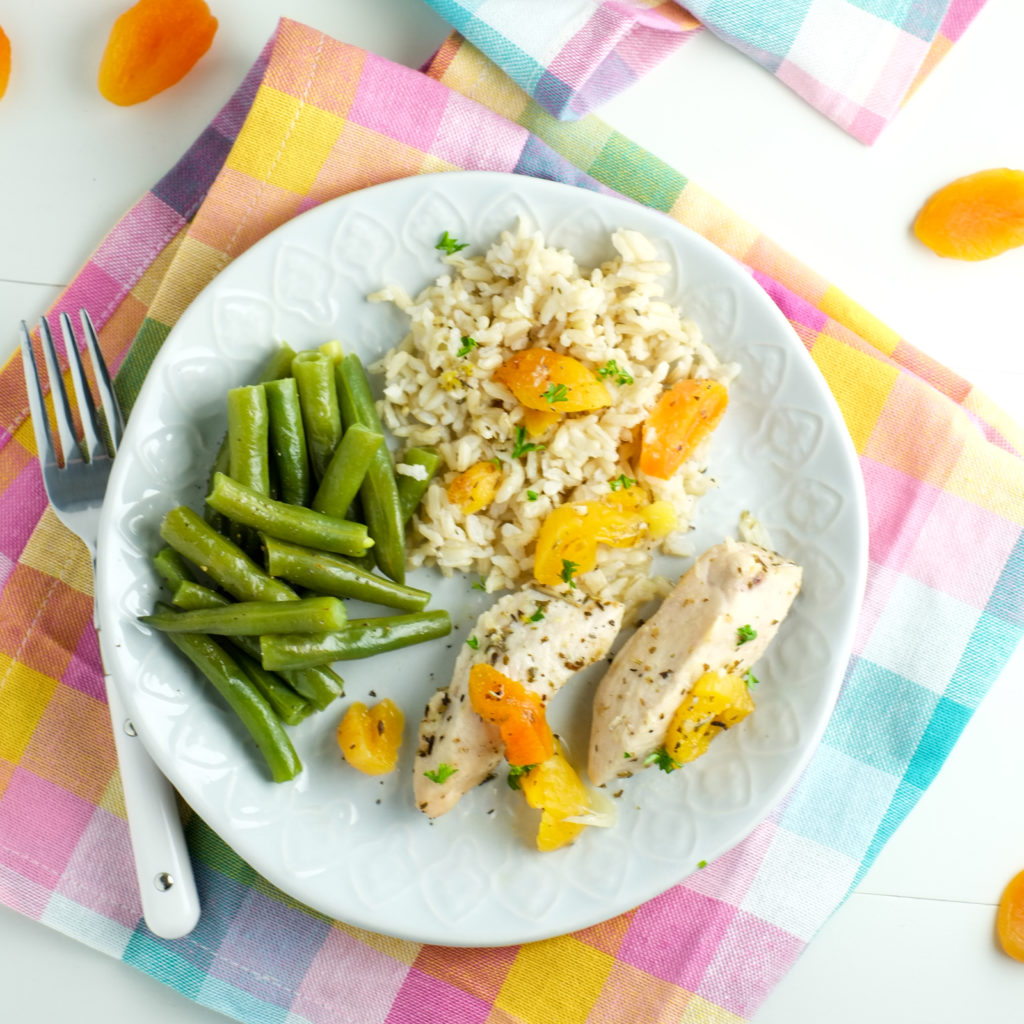 Crockpot Apricot Chicken Recipe   Super Healthy Kids   Food and Drink
