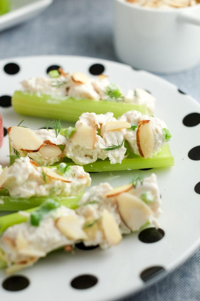 Chicken Salad Celery Sticks | Super Healthy Kids | Food and Drink