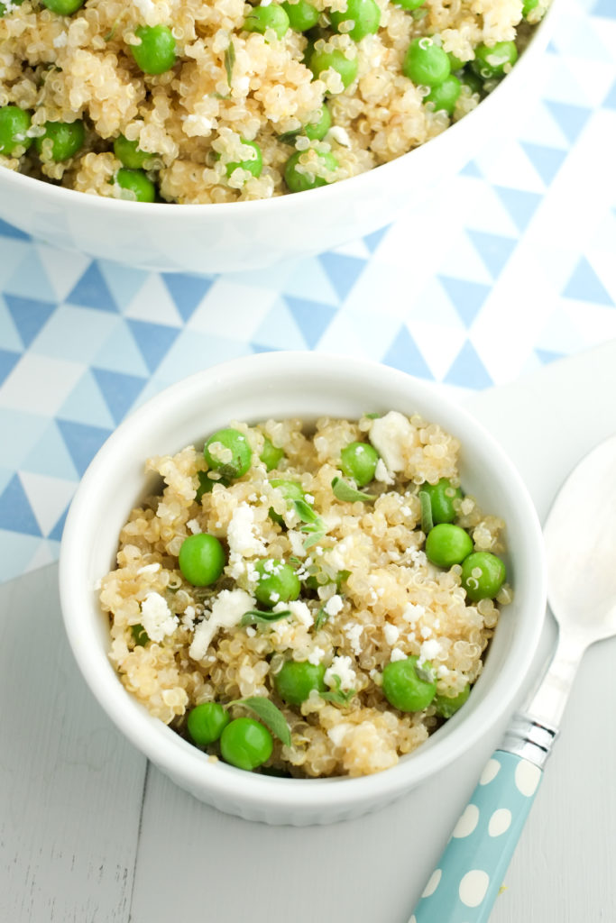 Quinoa with Fresh Peas | Super Healthy Kids | Food and Drink