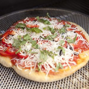 Homemade Grilled Pizza Recipe
